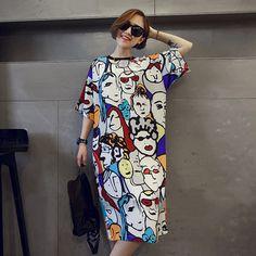 2017 de Corea del verano de las mujeres frescas de algodón Camisón de una de manga corta código de vestimenta de verano desgaste Del Equipamiento Casero de usar