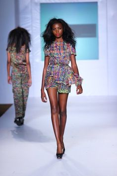 CIAAFRIQUE ™ | AFRICAN FASHION-BEAUTY-STYLE: MTN LAGOS FASHION AND DESIGN FASHION WEEK 2012: ITUEN BASI