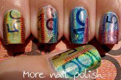 More Nail Polish: Australia Day - Aussie Money