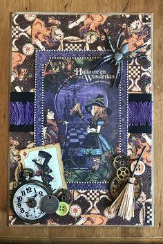 Halloween in Wonderland Graphic 45 Configuration Box - https://www.etsy.com/shop/AllisonCraftland