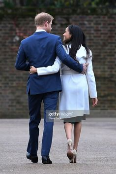 Every Adorable Photo of Prince Harry and Meghan Markle: In the weeks leading up the big royal wedding were reliving the couples sweetest moments. Prince Harry Et Meghan, Princess Meghan, Prince And Princess, Harry And Meghan, Real Princess, Prince Henry, Lady Diana, Meghan Markle Engagement, Harry And Megan Markle