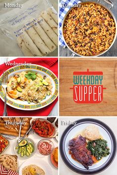 Make Ahead Meals for  #WeekdaySupper
