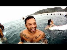 Sunny Garcia and Kalani Robb get some serious shacks at Backdoor and Pipeline while testing the upcoming GoPro 3D.