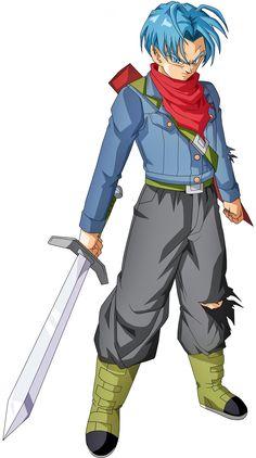 Future Trunks by BrusselTheSaiyan on DeviantArt Dragonball Super, Goku Super, Dragonball Evolution, Son Goku, Dragon Ball Z, Gogeta Super Saiyan 4, Power Manga, Animes Online, Retro