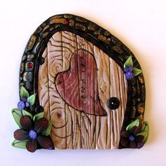 Heart Fairy Door by Kim Detmers (Listed on Etsy)