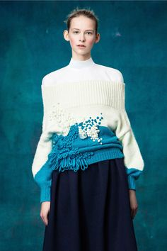 Delpozo Pre-Fall 2017 | Lovika #lookbook #runway