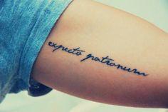 Expecto Patronum tattoo Plus