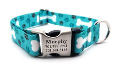 OH MY DOG Polyester Webbing Dog Collar with Laser by LaserPets