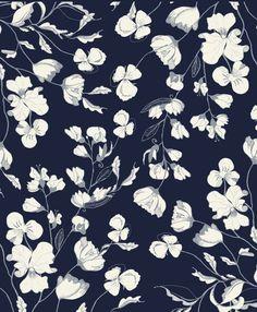 flowers, wallpaper, and floral imageの画像 Graphic Patterns, Textile Patterns, Print Patterns, Floral Patterns, Surface Pattern Design, Pattern Art, Motif Design, Art Du Monde, Motif Art Deco