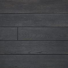 Charred Millboard Composite Decking has a distinctive finish, due to the burnt effect on the surface of the wood. Dark Deck, Concrete Plant Pots, Back Garden Design, Garden Shelves, Open House Plans, Timber Deck, Composite Decking, Outside Living, Wooden Decks