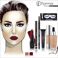 www.flormar.com Dewy Makeup, Flawless Makeup, Yves Rocher, Mermaid Makeup, Belleza Natural, Everyday Makeup, Makeup Looks, Lashes, Eyeshadow