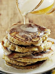 beautiful fluffy pancakes!