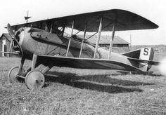 Spad VII of escadrille Spa 102 at Villeselve 1917.