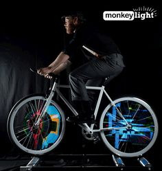 MonkeyLectric Bicycle Wheel Lights – Monkey Light Bike Lights