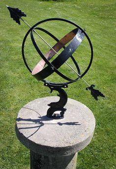 Old Antique Garden Sundial