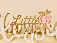 Excited to share this item from my #etsy shop: Our Little Pumpkin Cake Topper - Pumpkin 1st Birthday - Pumpkin Theme Birthday - Glitter Cake Topper -Pink and Gold Cake Topper Fall Birthday Decorations, Minnie Mouse Birthday Decorations, Pumpkin Birthday Parties, Pumpkin 1st Birthdays, 1st Birthday Party For Girls, Baby Girl First Birthday, First Birthdays, Birthday Ideas, Pumpkin Decorations