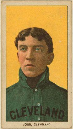 baseball card / Cleveland Ohio