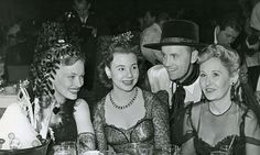 Veronica Lake, Jane Withers & Veronica's Mother and Step father.