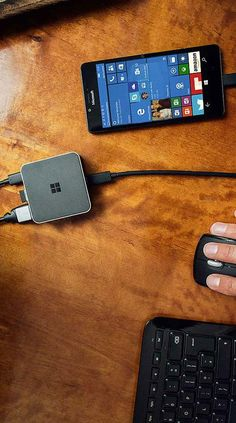 The Microsoft Display Dock allows you to connect your smartphone to HDMI and DisplayPort monitors, giving you an easy way to turn your tiny smartphone into a powerful mobile computing device