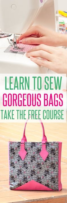 free bag patterns | handbag patterns | purse patterns | learn to sew bags