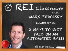 In the classroom today, Mark Podolsky talks to us about how to set up automatic payments for your raw land transactions. He shares 2 websites that make this automatic and can save a good amount of time. Investing In Land, Real Estate Investing, 2 Way, Growing Your Business, Classroom, How To Get, Class Room