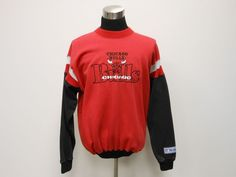 Vtg 90s The Game Chicago Bulls Crewneck Sweatshirt sz XL Extra Large Jordan  #TheGame #ChicagoBulls #tcpkickz