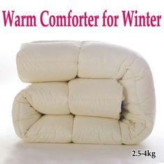 Zimné Bytový textil teplá prikrývka set deka prikrývka silná zimné posteľná bielizeň kráľa kráľovnej 2,5-4 Kg Brand New