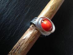 "Tagua-Ring ""Perlchen"" von Phitolotta auf DaWanda.com"