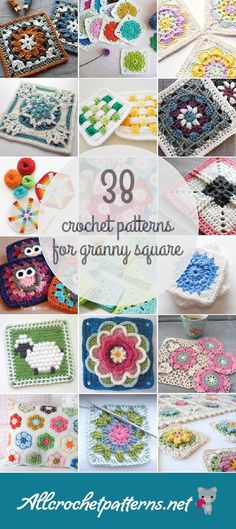 Crochet Patterns For Granny Square