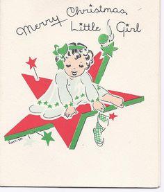 C116 Vintage unbenutzt Christmas Greeting Card von Treasure Masters von Minneapolis
