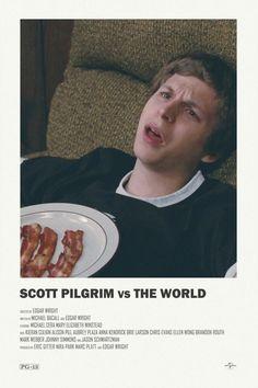 Scott Pilgrim vs The World alternative movie poster Visit my Store https://society6.com/andrewkwan