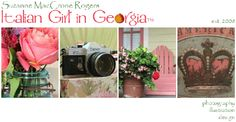 January 2015 Blog Banner ~ via Italian Girl in Georgia ~ Original Colour Photography by Suzanne MacCrone Rogers