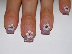 18 Stunning French Nail Arts that will Blow your Mind - We Tell ...