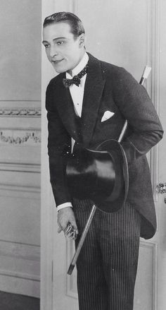 """meinthefifties: """" Rudolph Valentino in """"Beyond the Rocks"""" (1922) """""""
