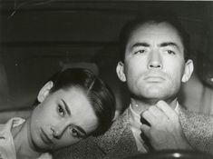 Audrey Hepburn & Gregory Peck, Roman Holiday (1953)