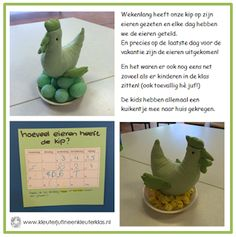 Hoeveel eieren heeft de kip? | Thema LENTE / BOERDERIJ