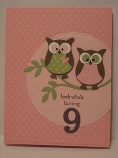 Two Step Owl XL Punch - CASEd Card