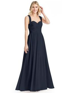 Shop Azazie Bridesmaid Dress - Cameron in Chiffon. Find the perfect made-to-order bridesmaid dresses for your bridal party in your favorite color, style and fabric at Azazie.