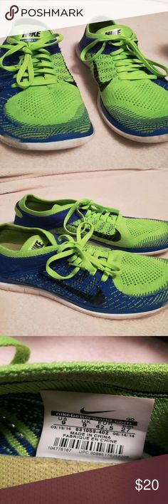 Mens Nike Flyknit sz 9 Good condition! Nike Shoes Athletic Shoes