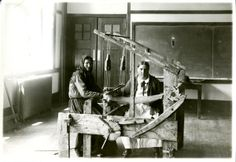 """Doukhobor weavers: Saskatoon Arts and Crafts Society demonstration 