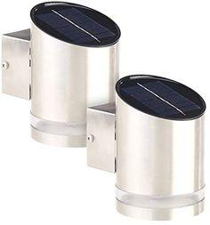 LED Solarleuchte Solarlampe Solar Spot Edelstahl 3 LEDs Solarbeleuchtung Licht