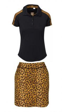 Greg Norman Womens Wylde Short Sleeve Zip Mock