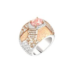 Chanel Café Society Sunset ring