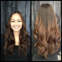 Thank you so much Karen for coming in and letting Vanessa create this beautiful Ombre for you :)
