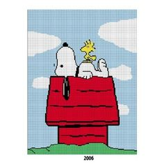 COZYCONCEPTS SNOOPY WOODSTOCK CROCHET AFGHAN PATTERN GRAPH | CozyConcepts - Patterns on ArtFire