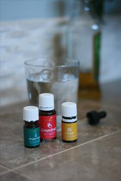 Wonderful weight-loss trio. Peppermint, Lemon and Grapefruit Essential Oils from Young Living. 2-4 drops of each in a vegetable capsule filled with carrier oil. Member #1678459