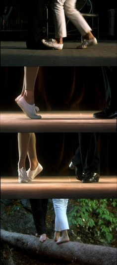 "Dirty Dancing- ""You start on the two."", ""Stay on your toes."""