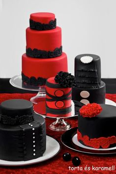 Red and Black....this would be decoration in my house