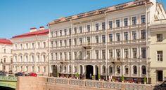 HOTEL ロシア・サンクトペテルブルクのホテル>宮殿広場とエルミタージュ美術館を望む5つ星ホテルです>ケンピンスキー ホテル モイカ 22(Kempinski Hotel Moika 22)