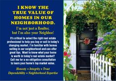 Neighborhood Real Estate Post Cards | realtor-neighborhood-post-card